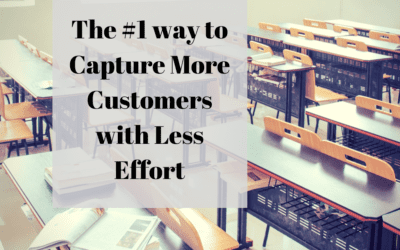 The #1 way to Capture More Customers with Less Effort